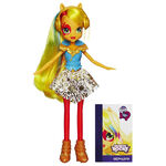 Rainbow Rocks Applejack neon doll