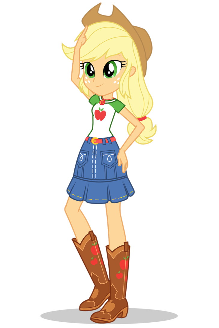 Applejack My Little Pony Equestria Girls Wiki Fandom