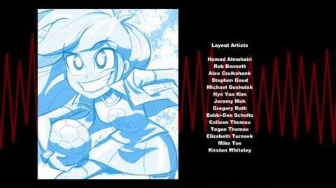 Versão do netflix dos créditos de Rainbow Rocks