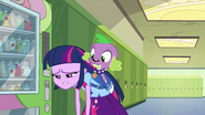 Depressed Twilight and Spike EG