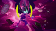 Midnight Sparkle clawing at the air EG4