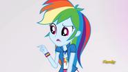 EG ML Rainbow dziwi się Fluttershy