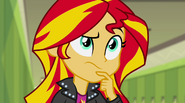 Sunset Shimmer's growing suspicions EG2