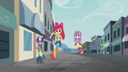 Cutie Mark Crusaders running EG2