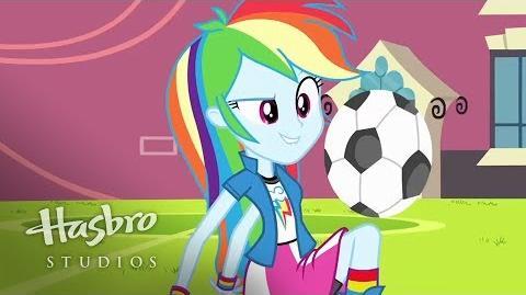 Conoce a Rainbow Dash