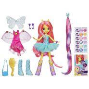 Equestria Girls Fluttershy doll