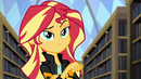 Sunset Shimmer with a coy look EG3
