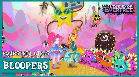 Blooper Reel MLP Equestria Girls Legend of Everfree! HD