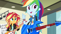 "Rainbow Dash ""I hope the FG have a music competition"" EG3"