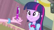 Twilight looks a pen EG