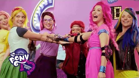 "MLP Equestria Girls Latino América - ""Rienda Suelta a la Magia"" Amistad Juegos Stomp"