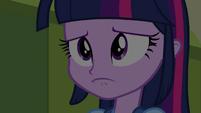 Twilight Sparkle pouts EG