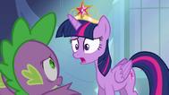 EG Twilight nie zgadza się ze Spike'iem