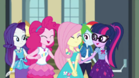 Fluttershy's friends congratulating her CYOE2b
