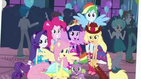 My Little Pony Equestria Girls - This is Our Big Night (Reprise) 1080p-1