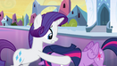 Rarity looks for Twilight's crown EG