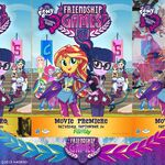 Friendship Games movie premiere poster