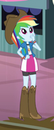 Rainbow Dash rodeo outfit ID EG2