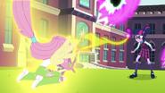 Fluttershy catches Spike EG3