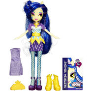 Rainbow Rocks Sapphire Shores Fashion Doll