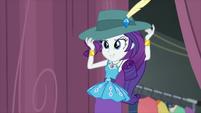 Rarity puts on a detective hat CYOE6