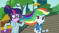 Twilight and Rainbow running together CYOE4b