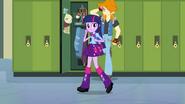 Twilight continues wandering the halls EG
