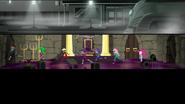 EG MF Power Ponies biegną przez salę tronową