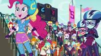 Pinkie Pie in the roller derby EG3