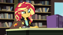 Sunset Shimmer thinking about magic EG3