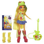 Rainbow Rocks Applejack Stamp Doll