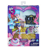 Friendship Games Sporty Style Pinkie Pie doll packaging