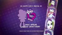 Pinkie Pie's Slumber Party - Rarity intro (Spanish) EGM3