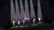 Rainbow Dash's grand entrance EG2