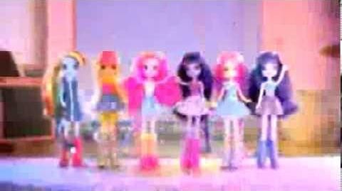Reklama zabawek - teledysk Equestria Girls