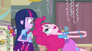 Pinkie Pie talking to Twilight EG