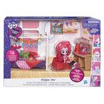 Equestria Girls Minis Pinkie Pie Slumber Party Bedroom set packaging
