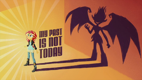 'My Past is Not Today' animated short title card EG2