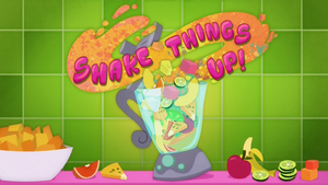 "EG klip ""Shake Things Up"" - plansza tytułowa"
