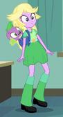 EG Twilight Sparkle w zielonym przebraniu