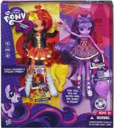 Dwupak Sunset Shimmer i Twilight Sparkle