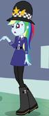 EG3 Rainow Dash w stroju policyjnym