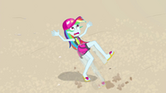 Rainbow Dash trying to intercept the ball EGFF