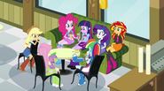 Twilight's circle of Canterlot High friends EG2