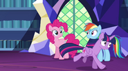 Twilight gallops off-screen EG2