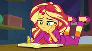 Sunset continues writing to Princess Twilight EGFF