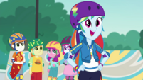 "Rainbow Dash ""bust out of that shell"" EGDS32"