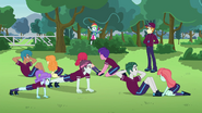 Rainbow Dash getting stares EG3