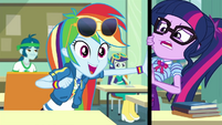 Rainbow Dash suggests a Daring Do movie EGDS22