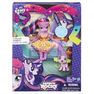 Rainbow Rocks Twilight Sparkle and Spike the Puppy toy packaging